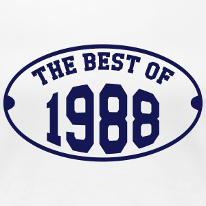 The Best Of 1988 T-shirts - Vrouwen Premium T-shirt