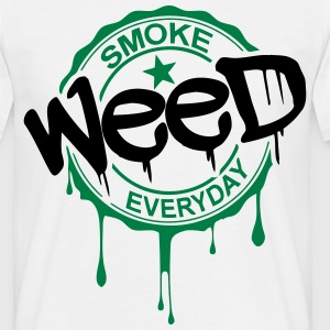 Tshirt weed academy - T-shirt Homme