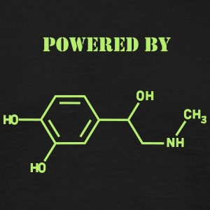 Powered by adrenaline T-Shirts - Men's T-Shirt