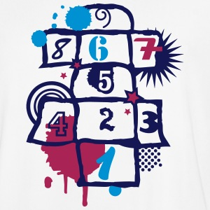 Hopscotch as a graffiti T-Shirts - Men's Football Jersey