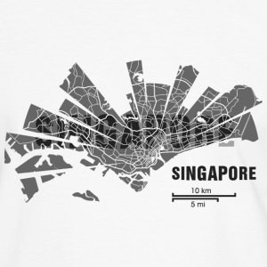 Singapore Tee shirts - T-shirt contraste Homme