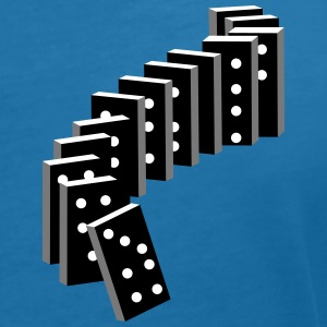 tile-based game with dominoes T-Shirts - Women's V-Neck T-Shirt