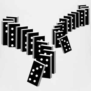 tile-based game with dominoes Shirts - Kids' Premium T-Shirt