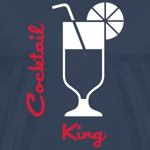 Cocktail King T-Shirts - Männer Premium T-Shirt