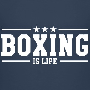 Boxing is life ! Skjorter - Premium T-skjorte for tenåringer