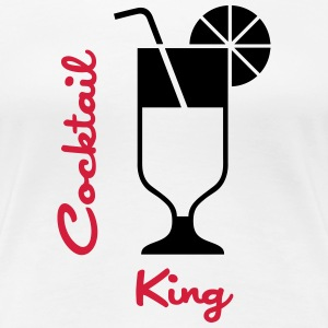 Cocktail King Camisetas - Camiseta premium mujer