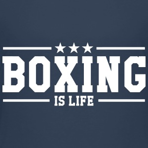 Boxing is life ! Shirts - Kinderen Premium T-shirt