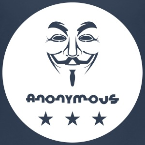 Anonymous T-shirts - Børne premium T-shirt