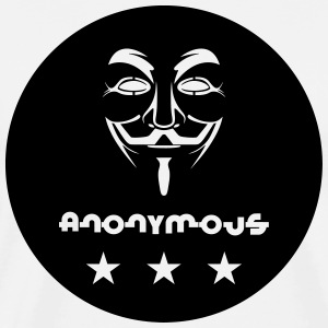 Anonymous Tee shirts - T-shirt Premium Homme