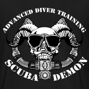 Scubademon Men's T-Shirt Support Diver - Men's T-Shirt