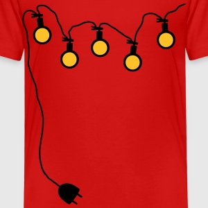 Light chain with connector around - V2 Shirts - Kids' Premium T-Shirt