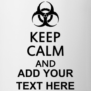 keep calm and toxic  Flessen & bekers - Mok