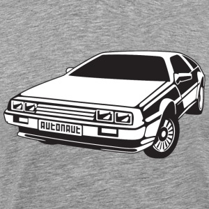 DMC DeLorean - Männer Premium T-Shirt