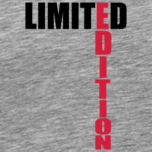 Limited Edition Text Logo Camisetas - Camiseta premium hombre