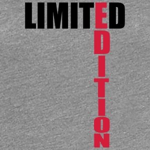 Limited Edition Text Logo T-skjorter - Premium T-skjorte for kvinner