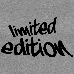 Limited Edition Graffiti Design Camisetas - Camiseta premium mujer