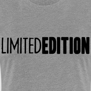 Limited Edition Logo Design T-Shirts - Women's Premium T-Shirt