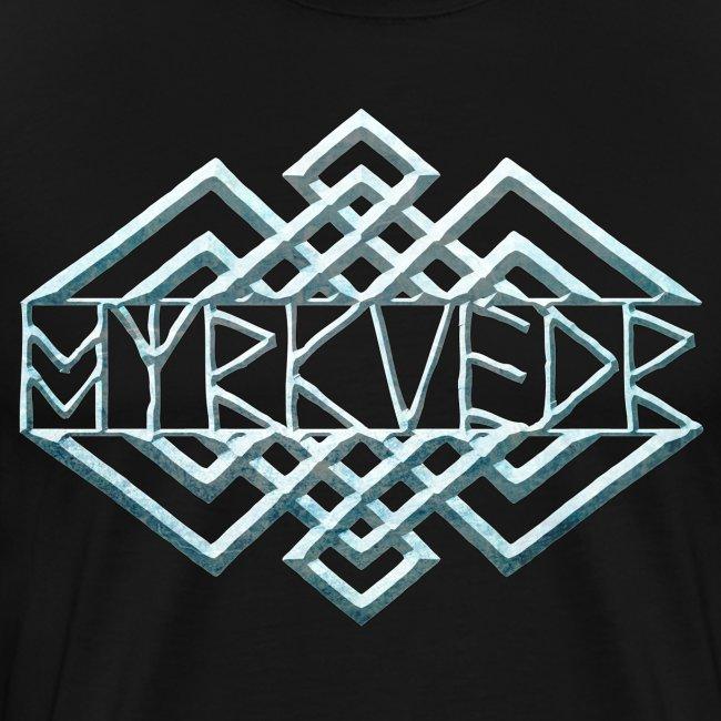 Myrkvedr - Logo (Ice) T-Shirt