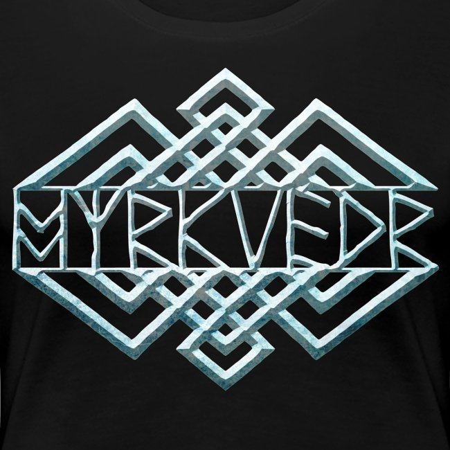 Myrkvedr - Logo (Ice) T-Shirt (Women)
