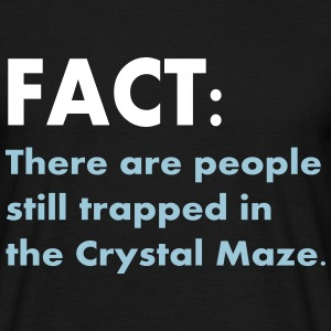 Crystal Maze Fact - Men's T-Shirt