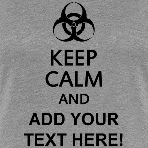 keep calm and toxic  T-skjorter - Premium T-skjorte for kvinner