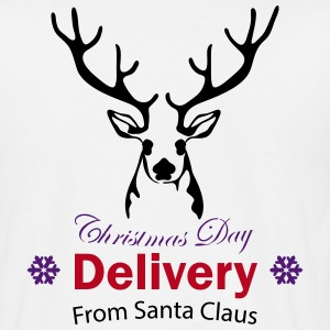 Christmas Day Delivery From Santa Claus T-Shirts - Männer T-Shirt