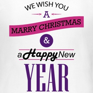 We wish you a Merry Christmas & a Happy New Year T-Shirts - Frauen T-Shirt