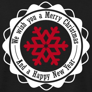 We wish you a Merry Christmas and a Happy New Year T-Shirts - Männer T-Shirt