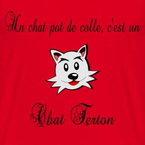 Chat terton T-Shirts - Men's T-Shirt