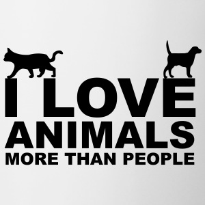 I Love Animals Kopper & flasker - Kopp