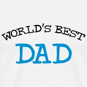 World's Best Dad T-skjorter - Premium T-skjorte for menn
