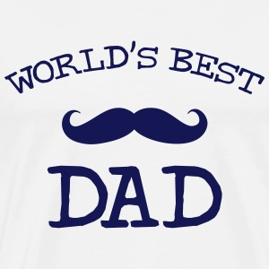 World's Best Dad T-shirts - Mannen Premium T-shirt