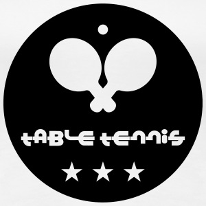 Table Tennis Tee shirts - T-shirt Premium Femme
