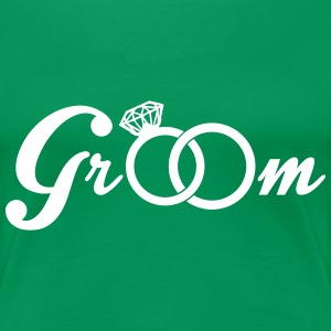 Groom T-Shirts - Frauen Premium T-Shirt