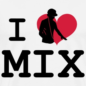 I Love Mix T-Shirts - Men's Premium T-Shirt