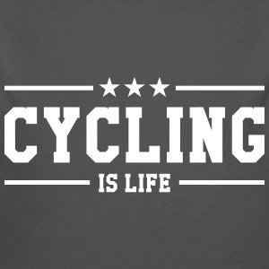 Cycling is life ! Sweats - Body bébé bio manches longues