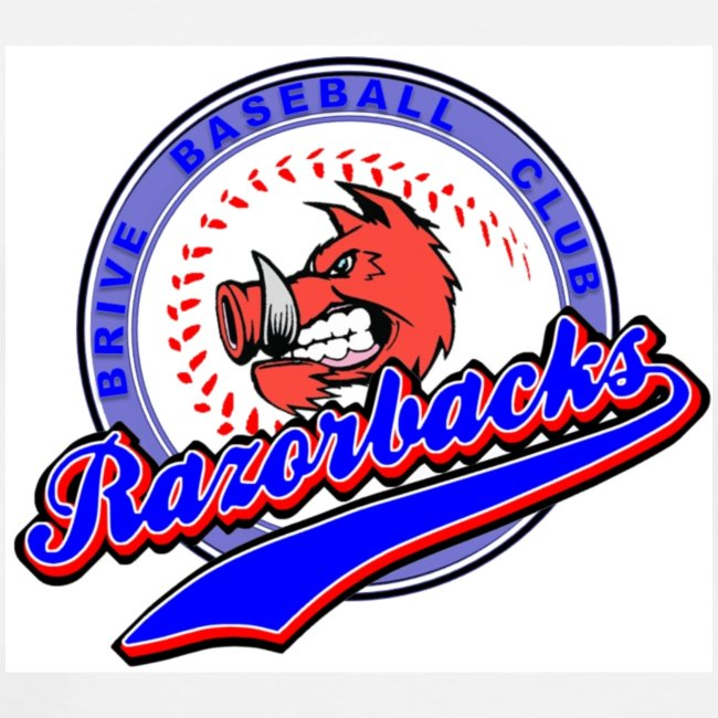 RAZORBACKS Logo couleur