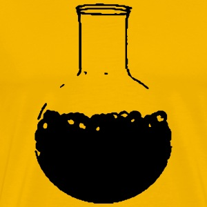 chemistry bottle T-shirts - Mannen Premium T-shirt