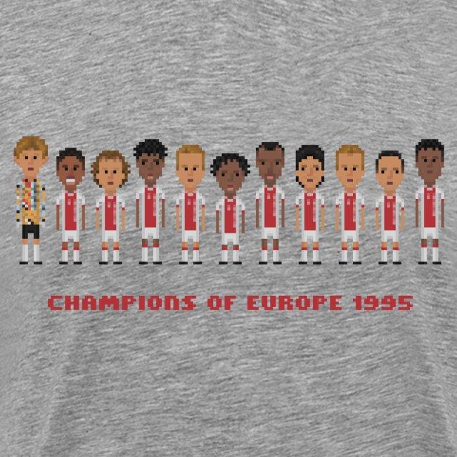 Men T-Shirt - Champions of Europe 1995
