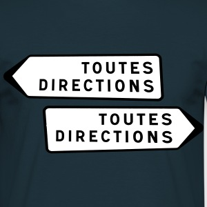 Toutes Directions Tee shirts - T-shirt Homme