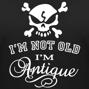 Not Old...Antique T-Shirts - Frauen T-Shirt mit V-Ausschnitt