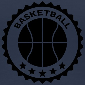 Basketball Stamp Logo Design T-Shirts - Women's Premium T-Shirt