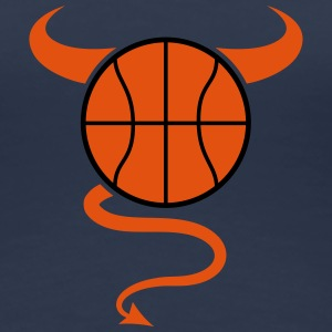 Basketball Devil Logo Design T-Shirts - Women's Premium T-Shirt