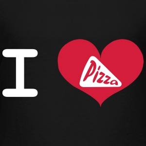 I Love Pizza Skjorter - Premium T-skjorte for barn