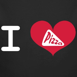 I Love Pizza Pullover & Hoodies - Baby Bio-Langarm-Body