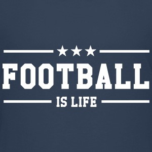 Football is life ! Skjorter - Premium T-skjorte for tenåringer