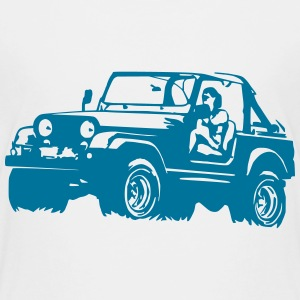 Jeep Softtop T-Shirts - Kinder Premium T-Shirt