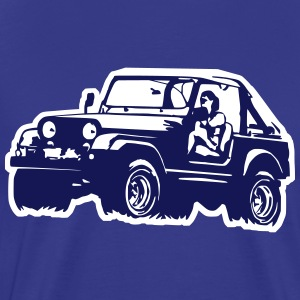 Jeep Softtop T-Shirts - Men's Premium T-Shirt