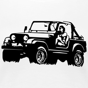 Jeep Softtop T-Shirts - Women's Premium T-Shirt