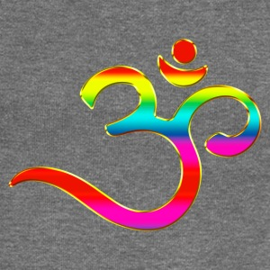 Om, Symbol, Rainbow, Buddhism, Mantra, Meditation, Sweat-shirts - Pull Femme col bateau de Bella